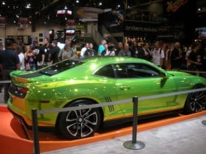 GM Hot Wheels SEMA Show