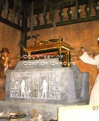 Ark of the Covenant installed at Universal Studios