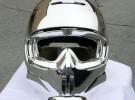 F1 pit crew helmets in Cosmichrome