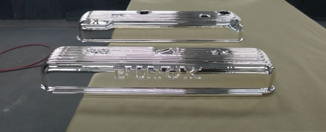 Spray Chrome Valve Covers