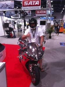 Sacramento Chrome and Paint SEMA Bike