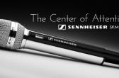 Spray Chrome Sennheiser Microphone