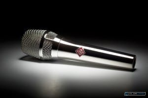 Spray Chrome Sennheiser Microphone
