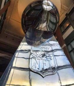 50 ft. Lombardi Trophy