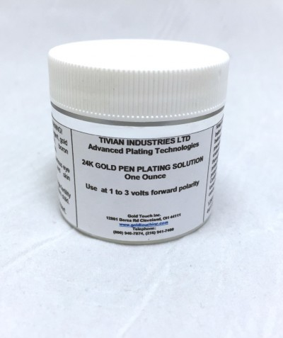 24K Gold Pen Plating Solution Non Cyanide