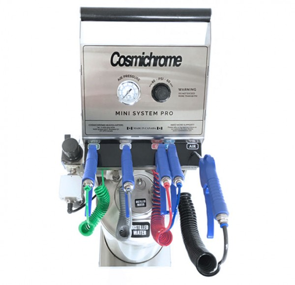 Gold Touch Inc Cosmichrome Patented Spray Chrome Machines