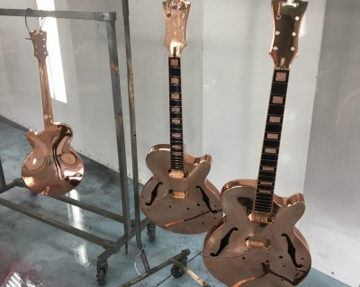 Absolut Vodka Copper Guitars