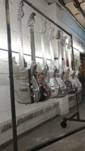 Cosmichrome Guitars completed